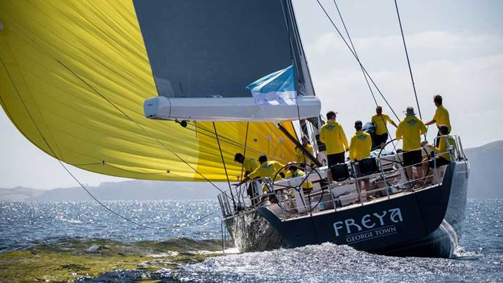 superyacht Freya Millennium Cup 2019