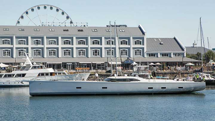 Power of 2 sailing superyacht Southern Wind Shipyard