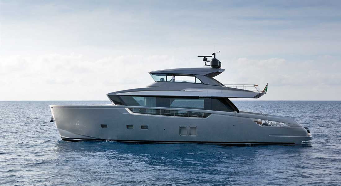 Sanlorenzo SX76 megayacht