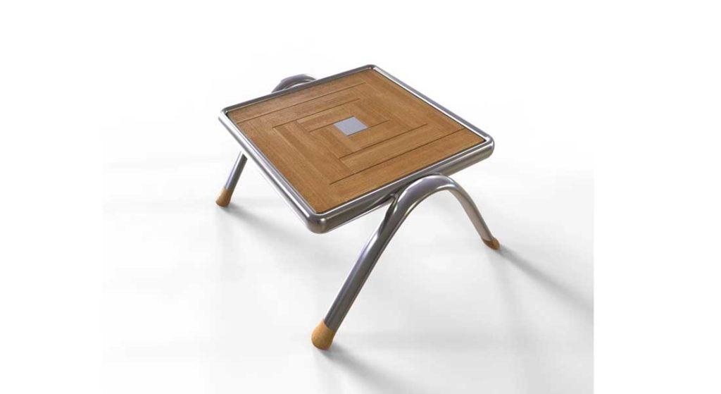 Timeliss Furniture megayachts Maze table