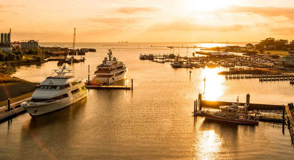 Cape Charles Yacht Center is transforming from a megayacht marina to add service and refit with Front Street Shipyard