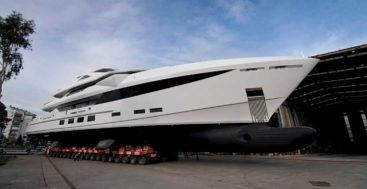Hargrave 184 megayacht at HSY in Turkey