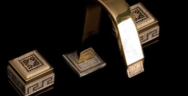 Lilou Italy Water Jewel collection of bath fixtures for megayachts and fine homes