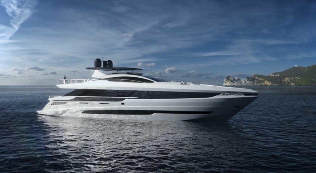 Mangusta GranSport 33 megayacht
