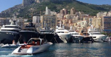 U.S. built yachts chartering in Europe Monaco Yacht SHow Superyacht Awards Ceremony