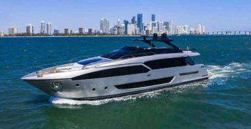 Riva 90 Argo megayacht in Miami