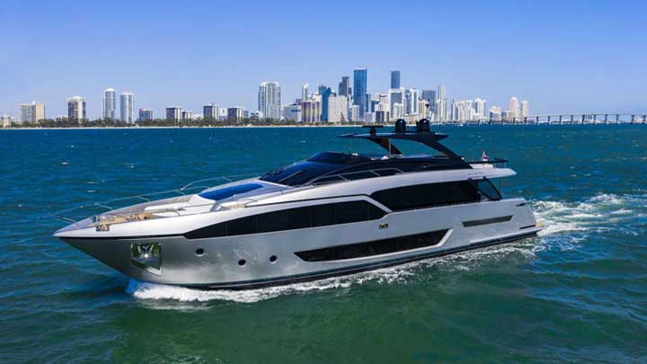 Riva 90 Argo among the megayachts to see at the Palm Beach International Boat Show