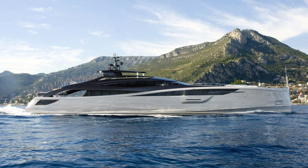 Infinity 42M megayacht part of the Infinity series from Rossinavi