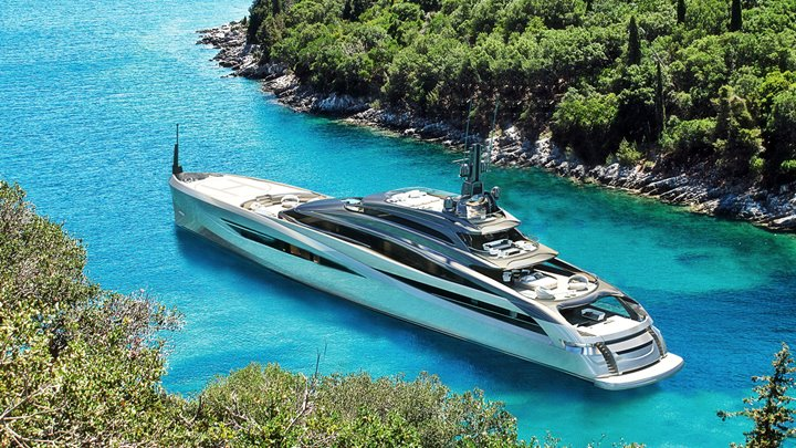 Infinity 69M part of the Infinity megayacht series