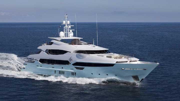 Sunseeker 155 Yacht largest megayacht under Robert Braithwaite