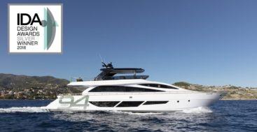 Amer Yachts megayacht Amer Twin 94 winner of IDA