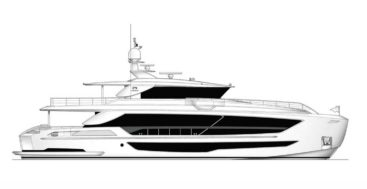 the second Horizon FD102 megayacht is under contract