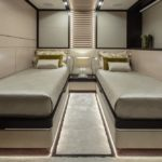 ISA Yachts megayacht Agora III guest stateroom