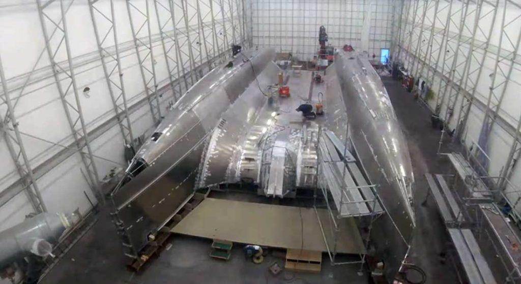 JFA Yachts is building the Long Island 78 Power catamaran megayacht