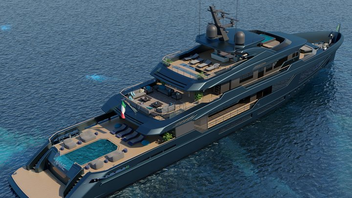 Mondomarine Discovery 57 megayacht the first in the Mondomarine Discovery series
