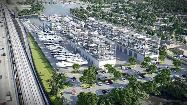 Port 32 Fort Lauderdale artist's rendering of facility