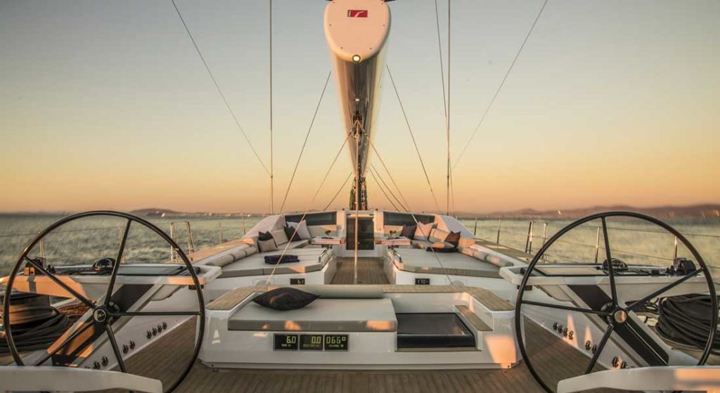 Southern Wind Shipyard sailing superyacht Power of 2 is in her owner's hands