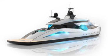 Roberto Curto's megayacht proposal Hypnosquid