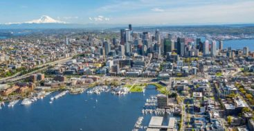 Worth Avenue Yachts Seattle office is on South Lake Union in Seattle