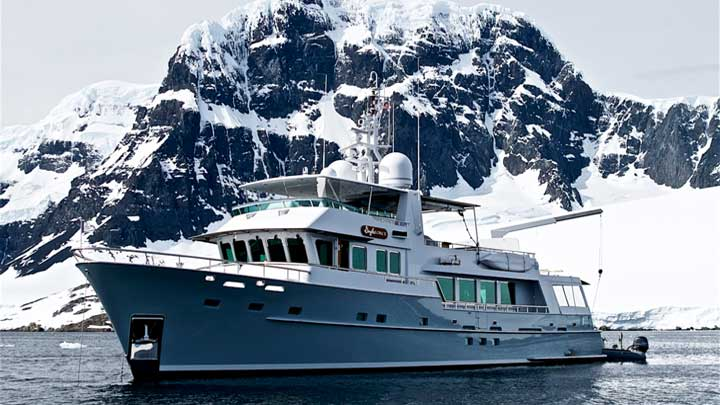 Gayle Force and Her Amazing Antarctic Journey - Megayacht News
