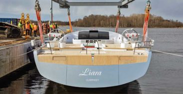 Liara, Baltic 112 Custom Superyacht, to Loom Over Racecourses