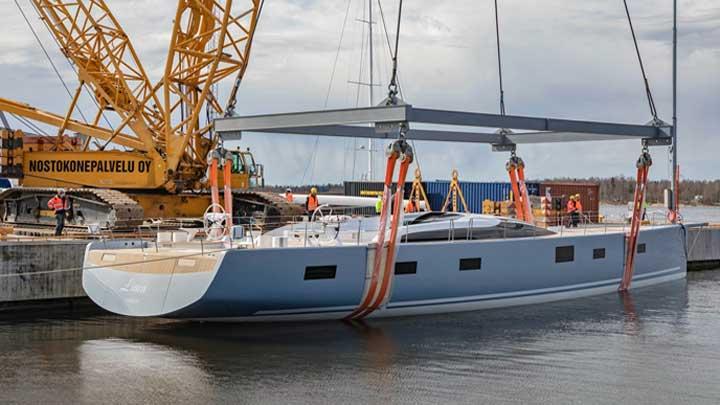 Liara, Baltic 112 Custom Superyacht, to Loom Over Racecourses