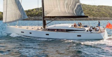 CNB Yachts also builds sailing superyachts