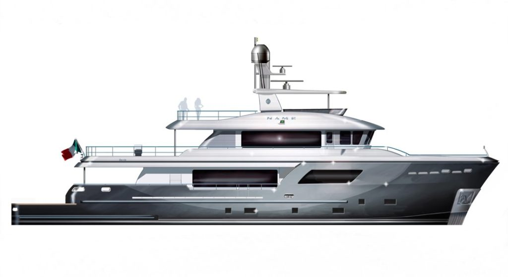 first American-owned Cantiere delle Marche megayacht, a Darwin 106