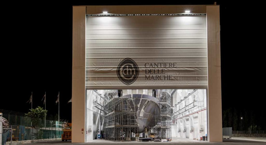 Cantiere delle Marche builds megayachts in Ancona