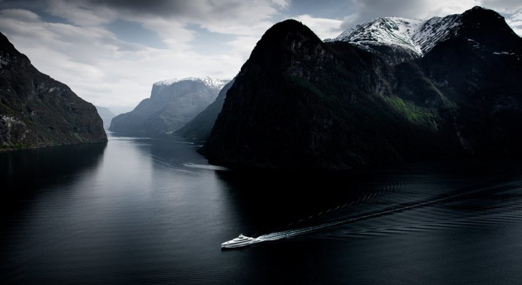 the Northern European Superyacht Route would be ideal for yachts like Najiba, here in Norway