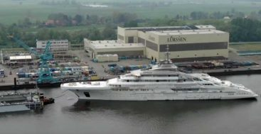Project Redwood is a 142-meter superyacht from Lurssen in Germany