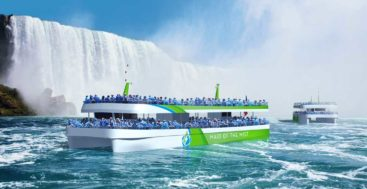 the new Maid of the Mist catamarans are being built by Burger Boat Company which specializes in megayachts