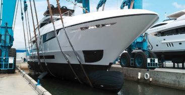 Mangusta Oceano 43 megayacht launched in May 2019