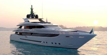 Mondomarine Classic megayachts feature Luca Dini Design styling