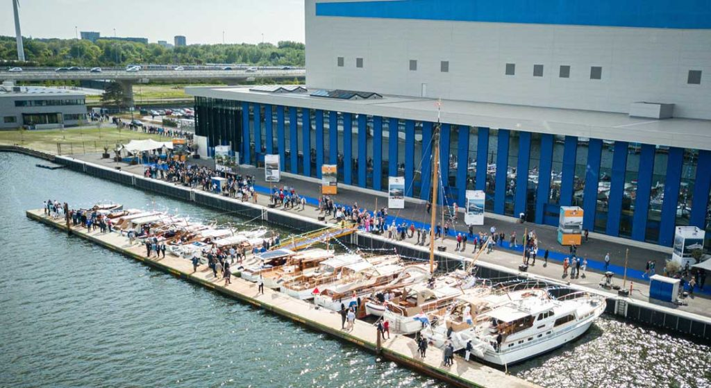 the grand opening of the new superyacht yard Feadship Amsterdam on May 16