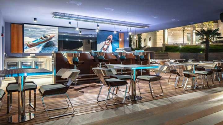 megayacht fans of Riva can soon enjoy the Riva Lounge in Opatjia in Croatia