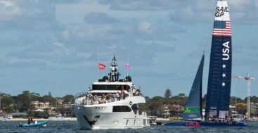 SailGP Adrenaline Yachts is a special superyacht program created by BWA Yachting