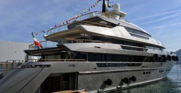 Attila is the first Sanlorenzo 64 Steel superyacht