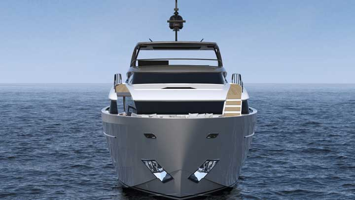 the Sanlorenzo SD96 and SL96 Asymmetric are two new megayachts from the famous Italian builder