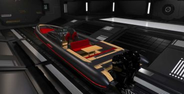 Technohull Explorer 40 RIB is made for megayachts