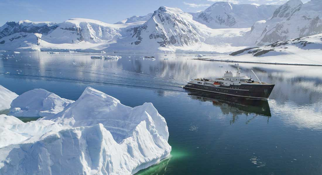 EYOS Expeditions and Legend Invite You to Antarctica—Again