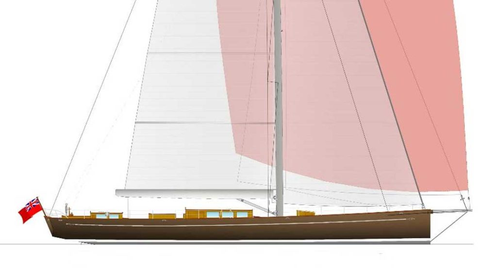"the Baltic 117 Custom Classic will be a ""smart"" superyacht"