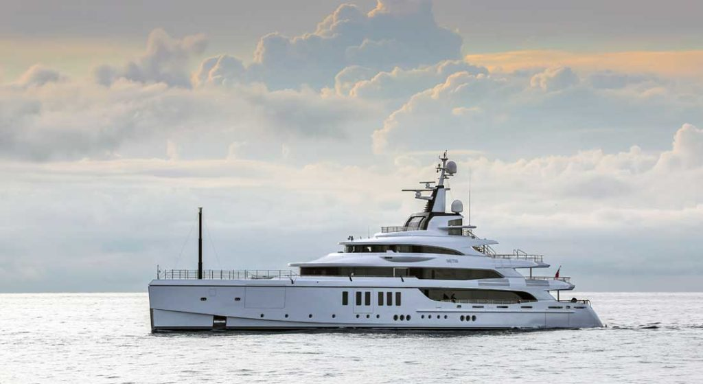 Benetti has delivered the megayacht Metis