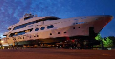 Jackpot is the last Christensen Shipyards megayacht completed in Washington State