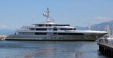 Regina d'Italia is the megayacht previously known as Codecasa hull F74