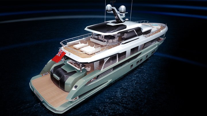 the Dynamiq Global 330 megayacht is the first Dynamiq explorer