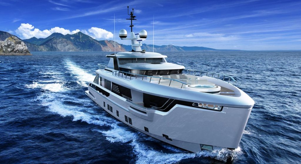 Dynamiq Global 330 megayacht is the first explorer from Dynamiq