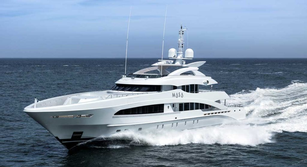 Mighty Masa Makes Way for Maiden Voyage - Megayacht News