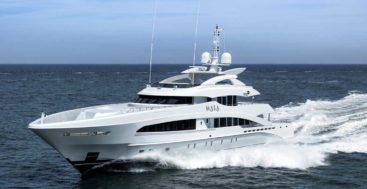 Heesen Yachts has delivered the megayacht Masa