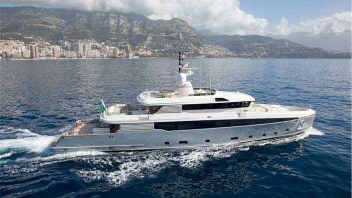 the owner of the Spadolini 43-meter explorer megayacht liked the looks of Aslec 4